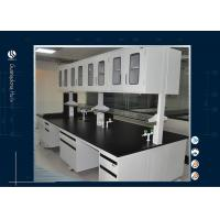 Buy cheap Customized Steel Computer Lab Furniture Island Workbench Physics For Education from wholesalers