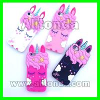 Buy cheap Custom soft silicone cute cartoon figure animal phone case custom and supply from wholesalers