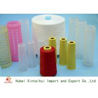 Buy cheap 30s/3 Ring Spun Polyester Yarn For Sewing / Knitting On Paper Or Plastic Cone from wholesalers