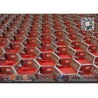 Buy cheap AISI410S Stainless Steel Hexsteel with lances | 1 depth X 14gauge | China Hexsteel Factory from wholesalers