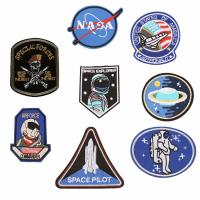 Buy cheap Personalized Uniform Custom Woven Patches / Embroidered Logo Patches from wholesalers