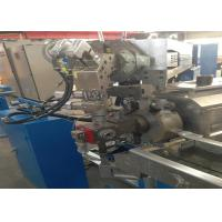 Buy cheap Fuchuan Sky Blue Electrical Core Wire Plastic Extrusion Line 500Rpm Max Speed from wholesalers