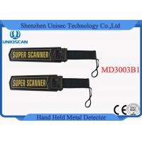 Buy cheap HandHeld Portable Metal Detector , security metal detector wand MD3003B1 from wholesalers