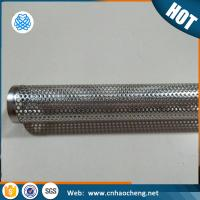 Buy cheap Stainless Steel Perforated Smoker Tube from wholesalers