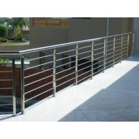 Buy cheap House stainless steel balcony railing design & stainless steel inox rod railing product