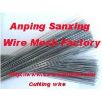 Buy cheap Staight cut wire from wholesalers