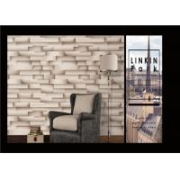 Buy cheap Modern Removable 3D Brick Effect Wall Covering Waterproof For Living Room product