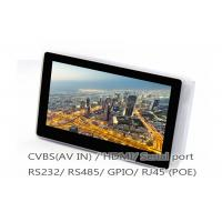 Buy cheap Smart Industrial Touch Panel PC / 7 Inch Android POE Tablet With Ethernet RJ45 from wholesalers