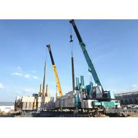 Buy cheap Diversity Side Pile Driver Machine For Pile Foundation Customized Service product