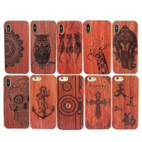 Buy cheap High - End Wood iPhone X Case Comprehensive Protection Personalized Service Available product