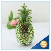 Buy cheap Shinny Gifts Shiny Diamond Pineapple Shape Trinket Box Full Diamond Gift Box from wholesalers