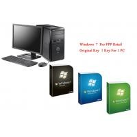 Buy cheap Microsoft Windows 7 Pro Pack Online Activate Customizable FQC Genuine FPP Retail from wholesalers