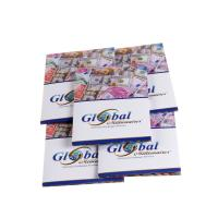Buy cheap Custom design three folding leaflets brochures poster flyers card printing from wholesalers