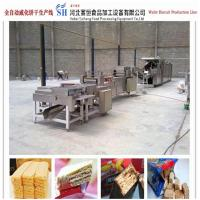 Buy cheap fully automatic wafer biscuit production line price hot sale from China from wholesalers
