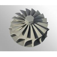 Buy cheap vacuum investment casting High temperature nickel base alloy turbo wheel  raw casting machining product