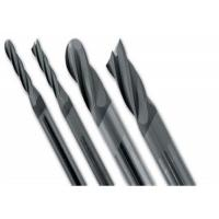 Buy cheap Solid Straight Carbide Ball Nose End Mill Cutter CNC Machines Cutting Usage from wholesalers