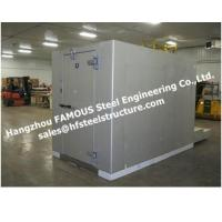 Buy cheap Walk In Cooler Room For Fruit , Walk In Refrigerator For Vegetables Pu Panel Cold Room from wholesalers