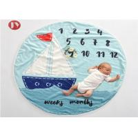 Buy cheap Baby Milestone Blanket with Month Growth Tracker for Girls and Boys |Ultra Soft and Warm Comfort from wholesalers