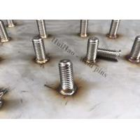 Buy cheap M6 Stainless Steel Stud Welding Pins With Internal Female Thread For Arc Welding from wholesalers