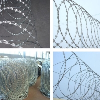 Buy cheap Bto-22 Spiral Razor Barbed Wire For Maritime Affairs from wholesalers
