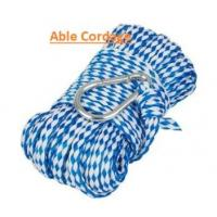 Buy cheap Hollow braided polypropylene rope for water ski towing line blue color from wholesalers
