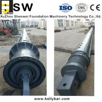 Buy cheap High strength Bauer Soilmec XCMG Zoomlion interlocking kelly bar from wholesalers