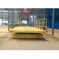 Buy cheap Motorised self-driven hydraulic rail vehicle with large platform from wholesalers