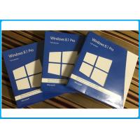 Buy cheap Genuine Product Microsoft Windows 8.1 Pro Pack Retail 1 User 32bit 64bit full version from wholesalers