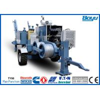Buy cheap 60kN 6 Ton 220kv Overhead Transmission Line Stringing Equipment with Cummins Diesel Engine from wholesalers