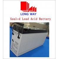 Buy cheap 12V110ah 6FM110FR Long Life Time Front Terminal AGM Deep Cycle Battery for Telecom VRLA Lead Acid Battery from wholesalers