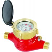 Buy cheap Multi Jet Semi-dry(Liquid-sealed) Water Meter LXSY-15E-50E from wholesalers