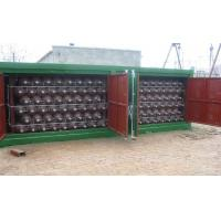 Buy cheap 20FT CNG Storage Tanks For CNG Mobile Refueling Station ISO9809 product