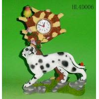 China Poly Resin Craft Clock on sale
