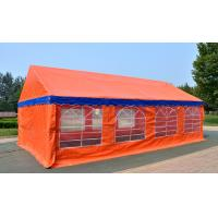 Buy cheap Orange Large Capacity Outdoor Party Tents , Easy Installation Garden Party Tent  from wholesalers