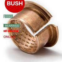 Buy cheap Diamond Oil Holes Wrapped Bushing, Bronze CuSn8P, DIN 1494 / ISO 3547, Low-maintenance from wholesalers
