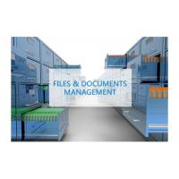 Buy cheap Longer Service Life RFID Solution For Documents Files Intelligent Management System from wholesalers