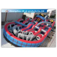 Buy cheap Giant Inflatable Amusement Park With Large Roller Coaster for Activities Entertainment product
