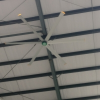 Buy cheap 4s Car Workshop 6 Blade Large Industrial HVLS Ceiling Fan from wholesalers