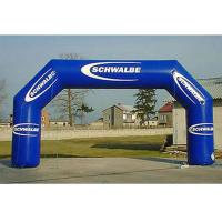 Buy cheap Party / Events Logo Printed Advertising Inflatable Arch Double And Quadruple Stitching from wholesalers