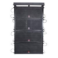 Buy cheap dual 10''  woofer live sound equipment outdoor indoor stages big shows concert evening partys power audio pro line array from wholesalers
