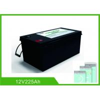 Buy cheap Bluetooth 225Ah Lithium 12V Deep Cycle Battery LiFePO4 Battery Management System from wholesalers