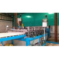Buy cheap PE / PP Sheet Plastic Plate Extrusion Line , Single Screw Extruder Machine from wholesalers