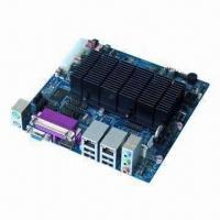 China Industrial Motherboard in Mini-ITX Form Factor with Intel Atom Dual-core D2200 Processor and NM 10 on sale