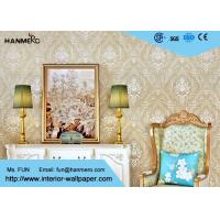 Buy cheap European Retro Vintage Wallpaper Non woven with Elegant Floral and Bronzing Treatment from wholesalers
