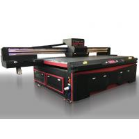 Buy cheap Multi Functional UV Flatbed Inkjet Printer With Ricoh Gen5 Print Head 2500 x 1300mm from wholesalers