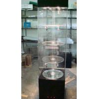 Buy cheap Electronics Acrylic Window Display Case Stand With Led Lights , Locks product