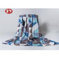 Buy cheap Art Printed Microplush Polyester Fleece Blanket Flannel Ultra Soft Smooth Breathable from wholesalers