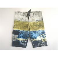 Buy cheap Hot Summer Quick Dry Digital Print Beach Short Pants Patch Side Pocket Velcro Fly from wholesalers
