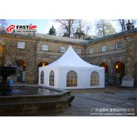 Buy cheap Aluminum Pvc High Peak Festival Party Tent For 100 People Seater Guest product