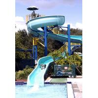 Buy cheap OEM Spiral Tube Fiberglass Pool Water Slides Aqua Park Equipment from wholesalers